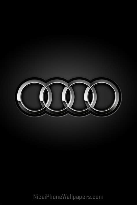 Audi 4 Rings by Audi Rings Hd Iphone 4 4s Wallpaper And Background