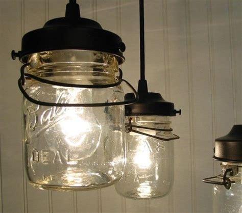 Canning Jar Light Fixtures Jar Idea Kitchen Pinterest Jars Jar Lighting And This