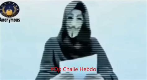 anonymous launches cyber attack against jihadist website in first charlie hebdo paris massacre anonymous vows to avenge