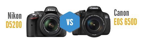 Kamera Nikon D3200 Vs Canon 600d perbandingan fitur canon 650d dan nikon d5200 manakah yang terbaik di kelas dslr pemula ri graph