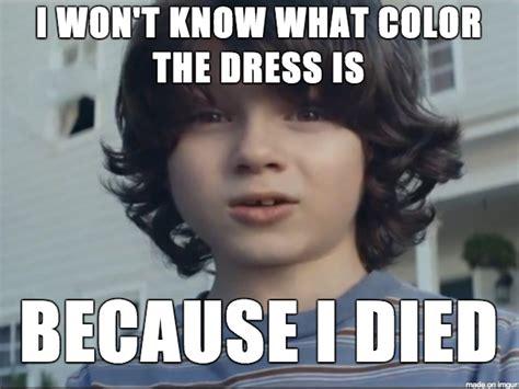 stop pretending   dont care   dress color