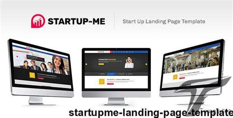 startup landing page template startup me landing page template besthemes