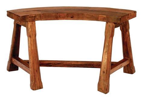 semi circle bench fire pit semi circular bench in teak inspiration