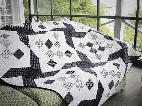 Free Black And White Quilt Patterns by Black And White Quilts Quilting Gallery Quilting Gallery
