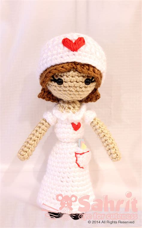 amigurumi nurse pattern judith the nurse amigurumi pattern amigurumipatterns net