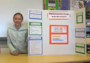 For science fair projects for 4th grade calendar 2015