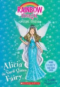 alicia snow queen fairy rainbow magic special edition daisy meadows paperback barnes