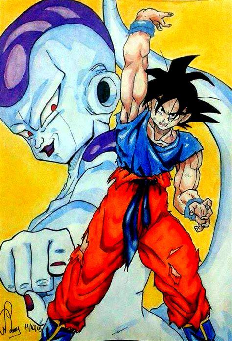 Goku Vs Frieza frieza vs goku wallpaper www imgkid the image kid