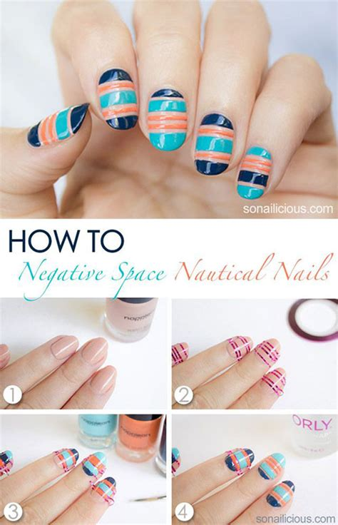 nail art design video tutorial 15 easy step by step new nail art tutorials for