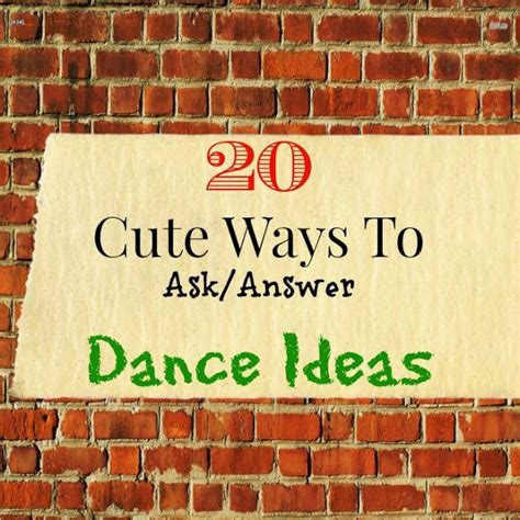 ways to ask a to be your 20 ways to ask answer ideas lou lou