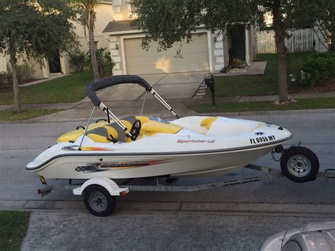 sea doo sportster le jet boat seadoo sportster le 2005 for sale for 3 200 boats from