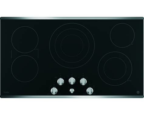 Ge Profile Cooktop Knobs Replacements ge profile series pp7036sjss 36 quot built in knob