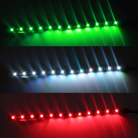 Marine Led Light Strips 3x Boat Navigation Led Lighting Green White 12
