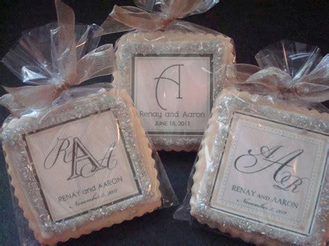 Wedding Favors Cookies by Wedding Favors Shortbread Custom Cookies