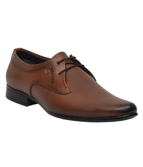 cooper shoes cooper brown formal shoes price in india buy