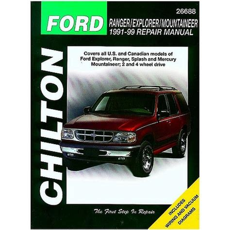 chilton car manuals free download 1999 ford ranger on board diagnostic system 1991 1999 ford ranger explorer chilton manual northern auto parts