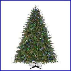 new castle artificial fir tree new home accents 7 5 pre lit led monterey fir tree decor world