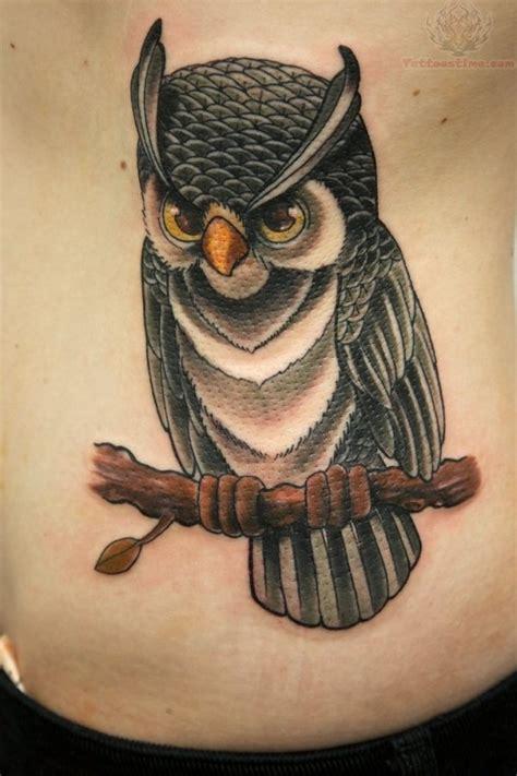 owl tattoo hip simple owl tattoo on hip