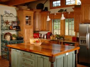 Country Ideas For Kitchen Country Kitchen Islands Hgtv
