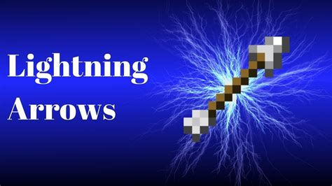 how to get the lighting how to get lightning arrow on minecraft joviestube