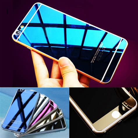 Tempered Glass Colour Mirror Iphone 4 4s 5 5s 6 6s buy wholesale glass mirrors from china glass mirrors wholesalers aliexpress