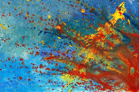 abstract acrylic painting abstract acrylic just another monday painting by mike