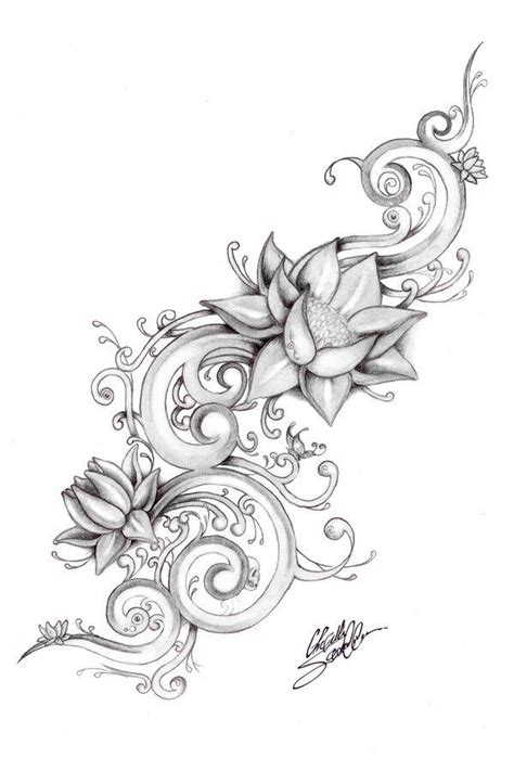 flower border tattoo 82 best images about decorative borders on pinterest