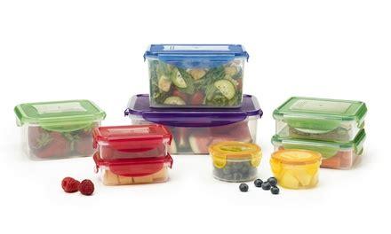 Kevinware Food Storage farberware locking plastic food storage set 18 groupon