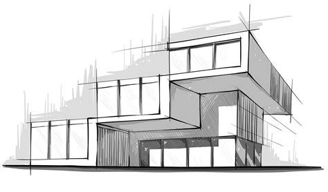 modern architecture sketches search sketching techniques modern