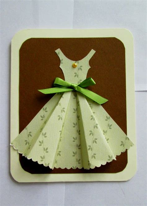 3d origami card yellow origami bird 3d dress card tutorial