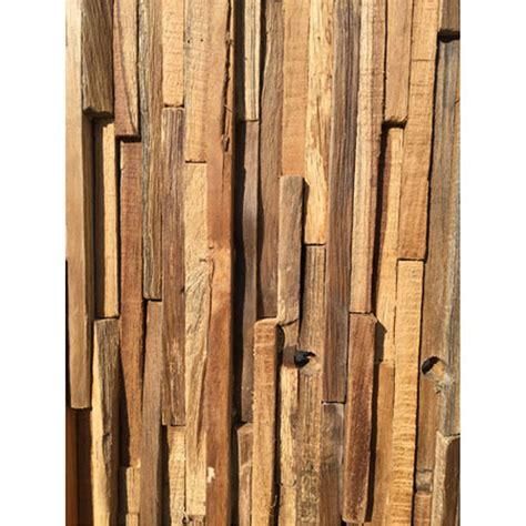 driftwood wall cladding panel modern wall art