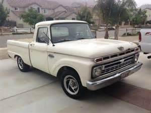 66 Ford F100 Buy Used 66 Ford F100 Bed 352cu In Chino California