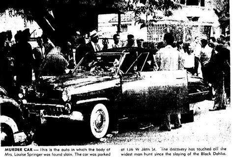 Louise Springer's car | MURDER OF LOUISE SPRINGER ... Modern Flapper Hair