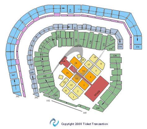 at t park seating map at t park seating chart
