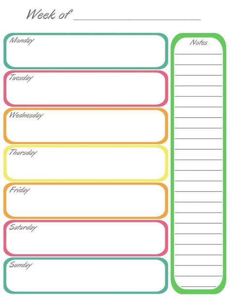 Calendar Template Word Blank Blank Weekly Calendar Template Word Weekly Calendar Template
