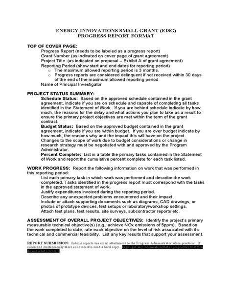 grant interim report template cool interim progress report template pictures inspiration