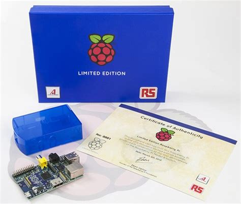 Limited Edition Casing Kasing Kotak Pi Box Raspberry Pi 3 raspberry pi coming in limited edition blue you ll to win it to own it