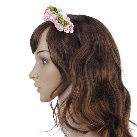 Wedding Hair With Flower Garland by Sa Flower Garland Flowers Wedding Headband Hair Band