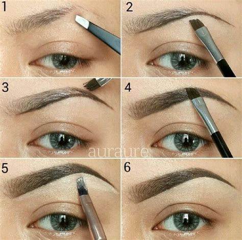 tutorial shading alis 15 ways to have the perfect eyebrows eyebrow tutorials