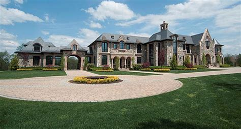 Farm House Floor Plans 31 000 square foot french inspired stone amp brick mansion