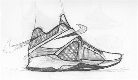 sketchbook zoom sneaker sketch of the week leo chang s nike zoom kd iv