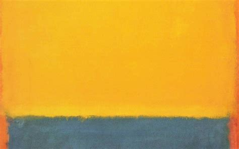 al classic mark rothko style paint art yellow papersco