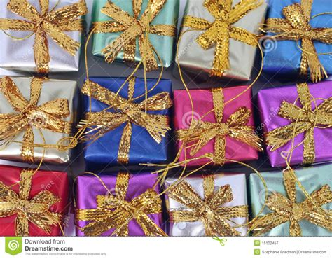 christmas present ornaments royalty free stock photography