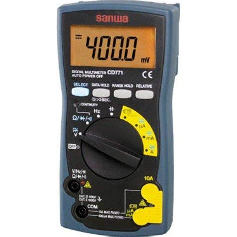 Multimeter Sanwa Cd771 sanwa cd771 digital multimeter end 2 4 2018 11 32 am