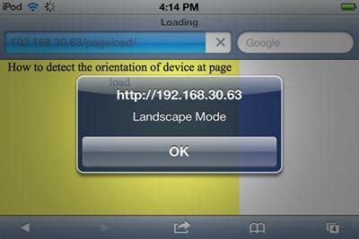 iphone css layout with landscape portrait modes disable landscape mode iphone css