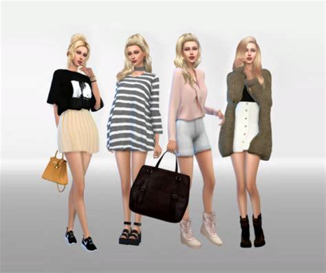 Fab Site Teenvoguelookbookscom by Sims 4 Korean