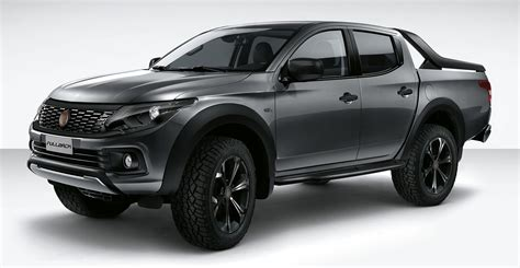 fiat fullback show car debuts as a lifestyle truck