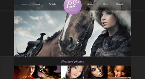 html5 photography template 50 free responsive html5 and css3 templates