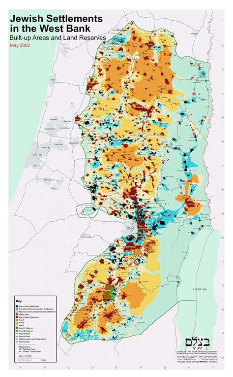 wast bank settlements in west bank map west bank israel