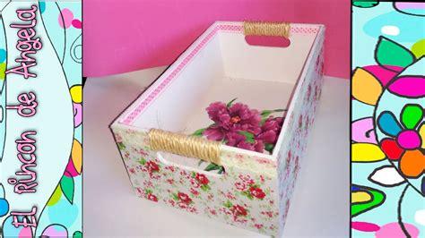 como decorar ina caja diy como decorar una caja de madera con papel mache y